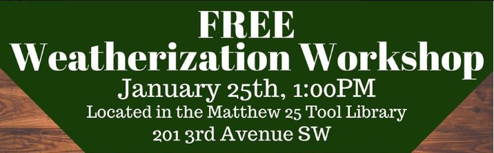 Home Weatherization Workshop