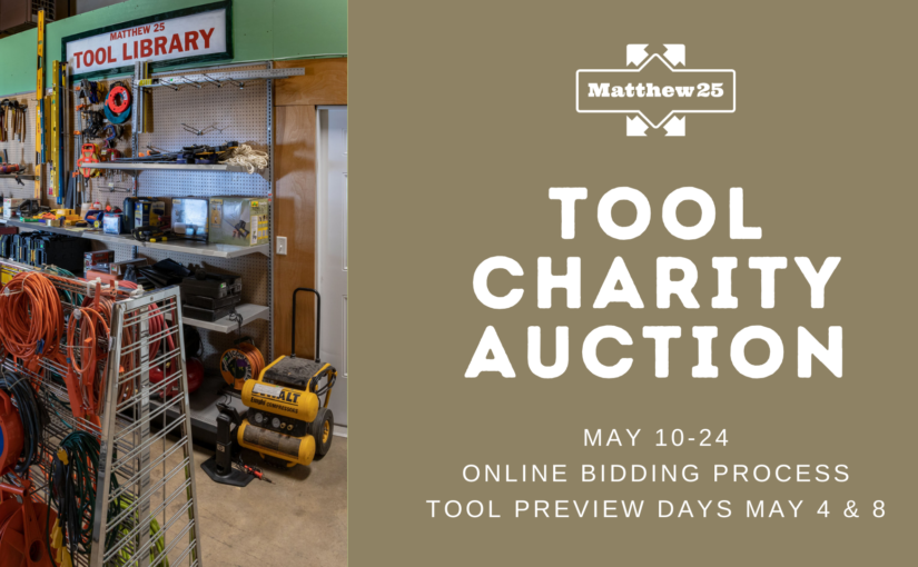 Online Tool Charity Auction